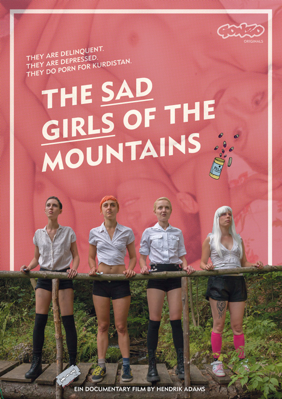 sad girls of the mountains poster excentrico 2021